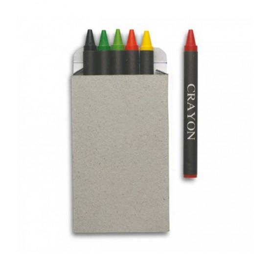 Creioane cerate, 6 buc Nestor