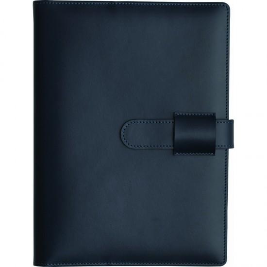 Agenda din piele Bella Blu 15x21cm