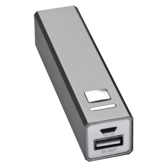 Baterie externa 2200 mAh metal Amedea