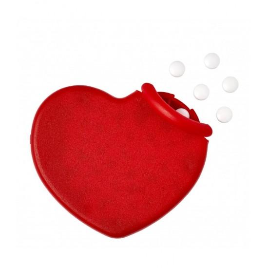 Bomboane mentolate cutie inima