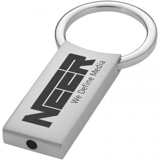 Breloc metalic rectangular
