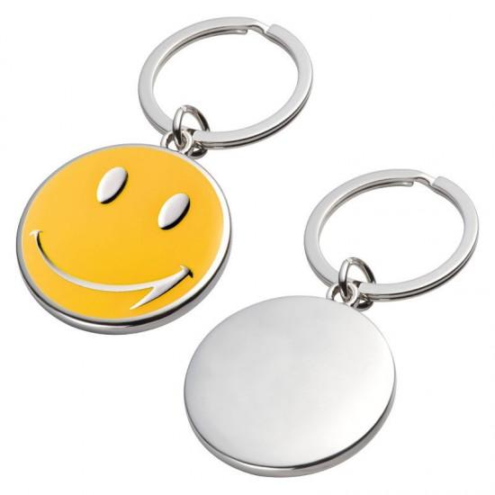 Breloc metalic Smile