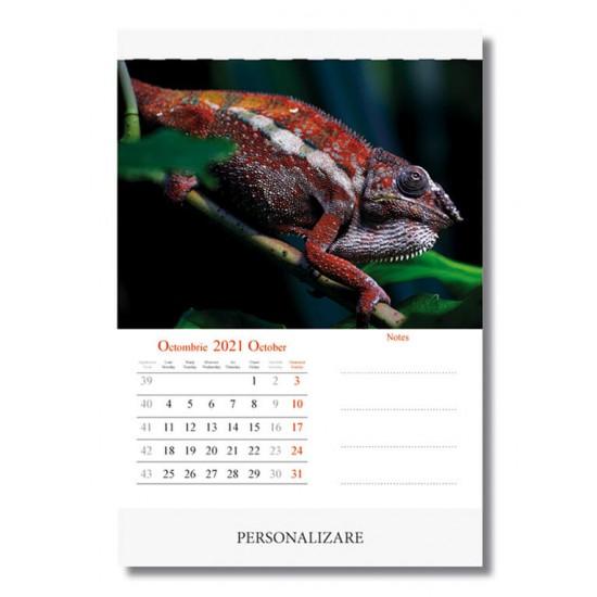 "Calendar cu magnet ""Wild Life"" 2021"