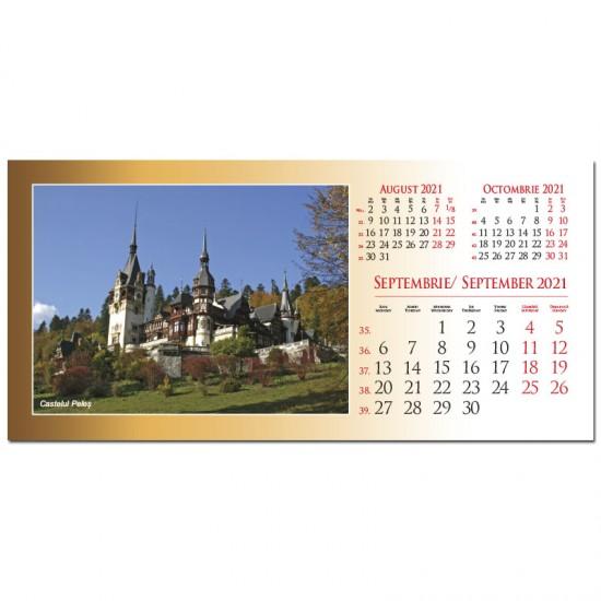 """Calendar de birou """"Romania"""" 2021"""