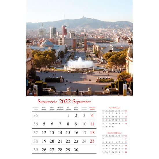 "Calendar ""Europe"" 2022"
