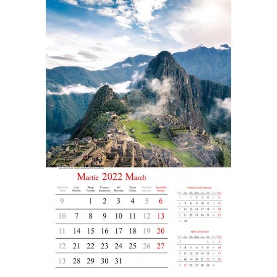 "Calendar ""Holiday"" 2022"
