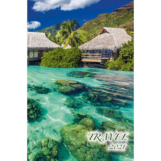 "Calendar ""Travel"" 2021"