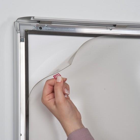 Caseta luminoasa 35mm simpla fata rezistenta la apa