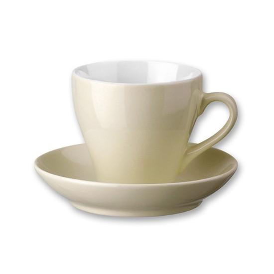 Ceasca si farfurie ceramica  Hannah