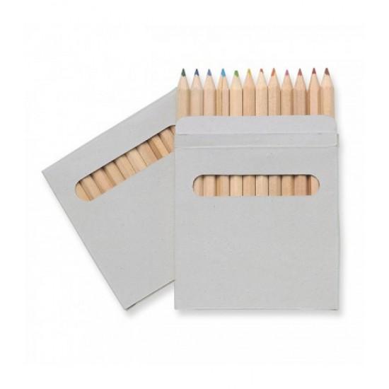 Creioane colorate, 12 buc Justin
