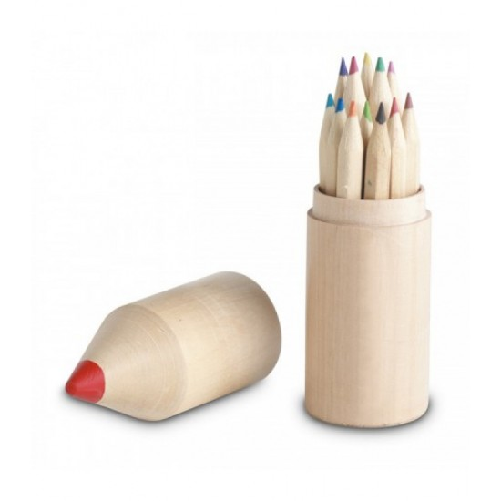 Creioane colorate, 12 buc Justina