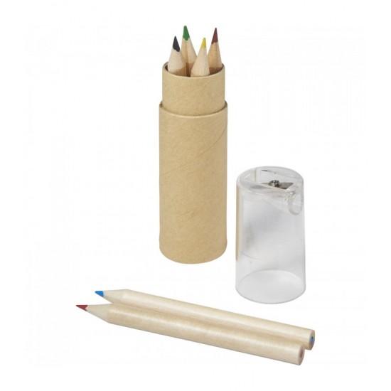 Creioane colorate,6 buc Aaron