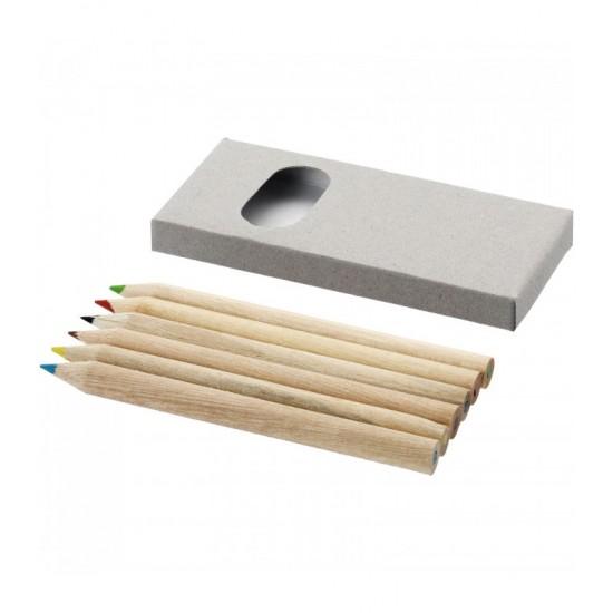 Creioane colorate, 6 buc Abbot