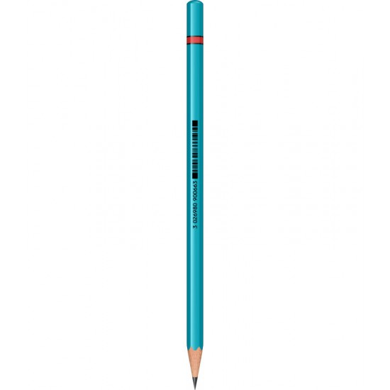 Creion Grafit Rotring Woodcase Neon Green HB