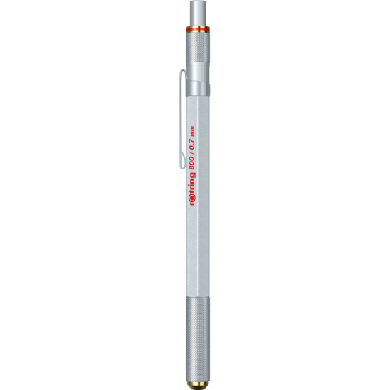 Creion Mecanic 0.7 Stylus Rotring 800 Plus Silver