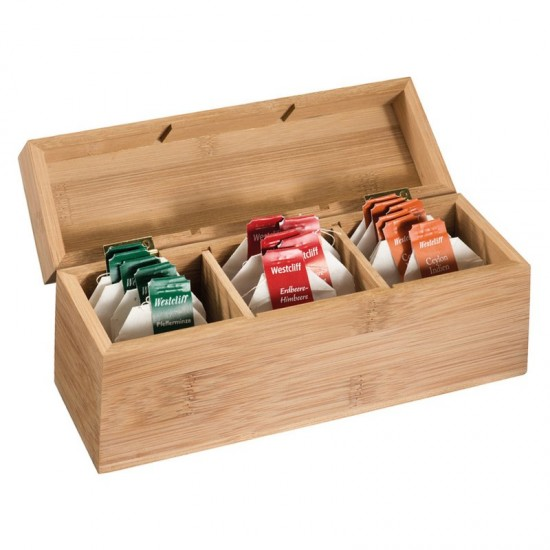 Cutie lemn pentru filtre ceai Damaskus