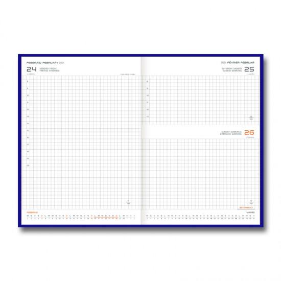 Agenda Matra 17x24cm zilnica matematica
