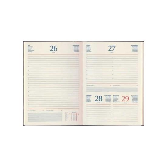 Agenda de lux Bluette 15x21cm cu fermoar