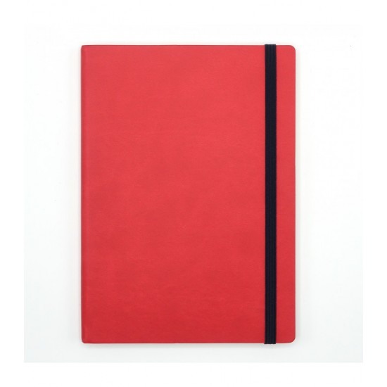 Notes A5 Precision Velvet Red