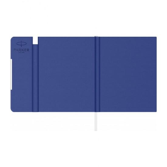Notes B6 tip mapa inscriptionata Parker blue