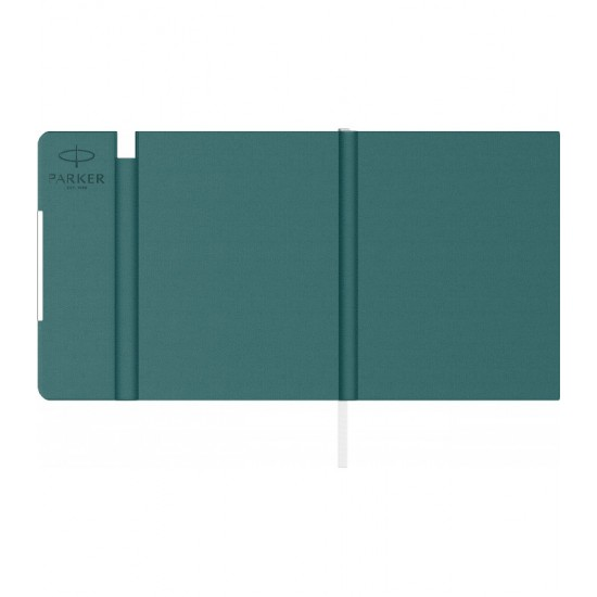 Notes B6 tip mapa inscriptionata Parker emerald