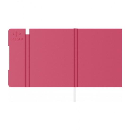 Notes B6 tip mapa inscriptionata Parker pink